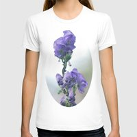 iris T-shirts featuring Iris by Bella Blue Photography