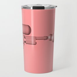 Bubble Gum Gun - Make Love Not War Travel Mug