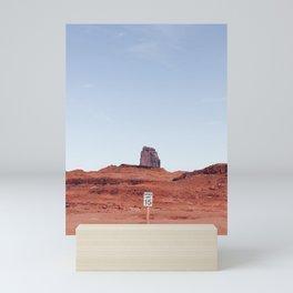 Monument + Sign Mini Art Print