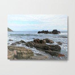 Seaside rocks Metal Print