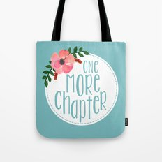 One More Chapter -Baby Blue Tote Bag