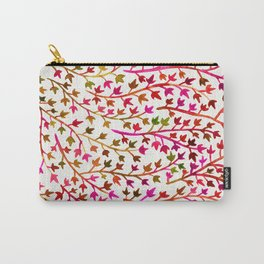 Pink Ivy Carry-All Pouch