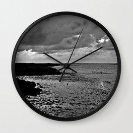 River to the open Danish Sea Wall Clock