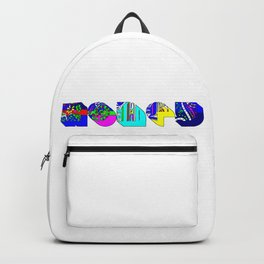 Honey tipography design Backpack