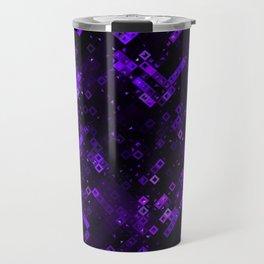 Violet Pattern Travel Mug