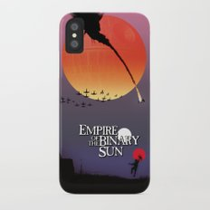 Empire of the Binary Sun iPhone X Slim Case