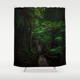 Fern Gully Shower Curtain