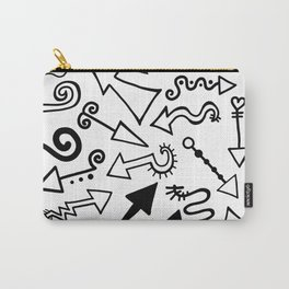Arrow Doodles Carry-All Pouch