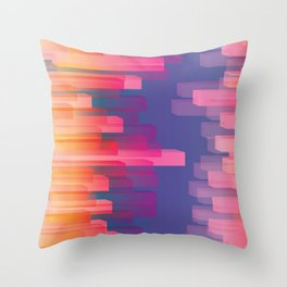 Dichroic Sample 273 Throw Pillow