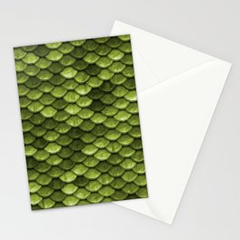 Mermaid Scales | Green with Envy Stationery Cards