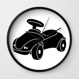 Ride-On Car Toy Wall Clock