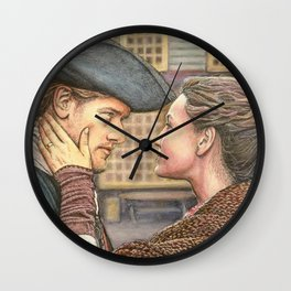 A brand new world Wall Clock