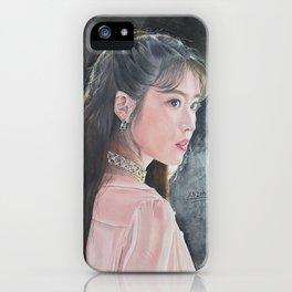 IU Lee Ji Eun Drawing For Sale iPhone Case