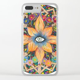 Shards of Love Clear iPhone Case