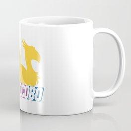 Nascar Chocobo Racing Coffee Mug