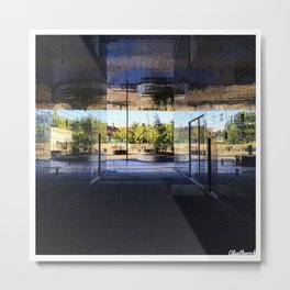 New Area in Morning Light Metal Print