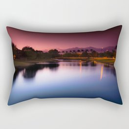 Pink Sunset Rectangular Pillow