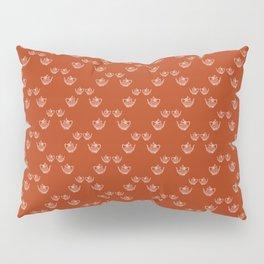 Vintage Teapot Pattern Pillow Sham