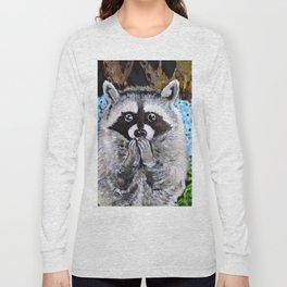 Mischief the Raccoon Long Sleeve T-shirt