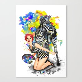 Colorphobia Canvas Print