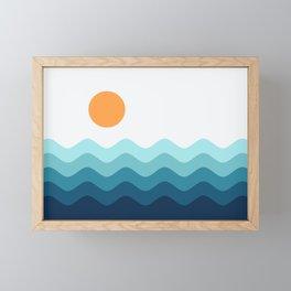 Abstract Landscape 14 Framed Mini Art Print