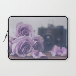 Photogenic Purple Roses Laptop Sleeve