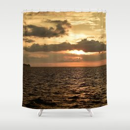 Sunset at Tamarindo Shower Curtain