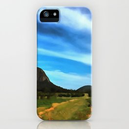 Glass House Mountains iPhone Case