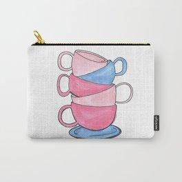 teacups Carry-All Pouch