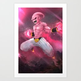 Kid Buu Art Print