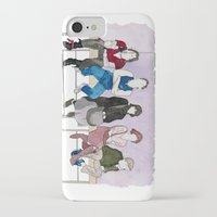 the breakfast club iPhone & iPod Cases featuring The Breakfast Club by DJayK