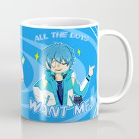 dmmd Mugs featuring All The Boys Want Me! by LiamAmsel