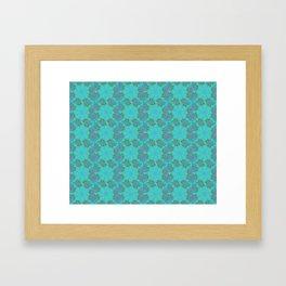 Frostwork Framed Art Print