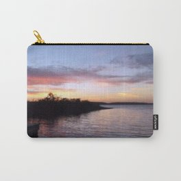 Sunset on Kentucky Lake Carry-All Pouch