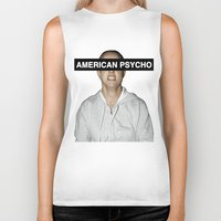 britney spears Biker Tanks featuring American Psycho - Britney Spears by hunnydoll