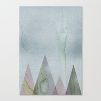 desert Canvas Prints featuring Desert by J Arell