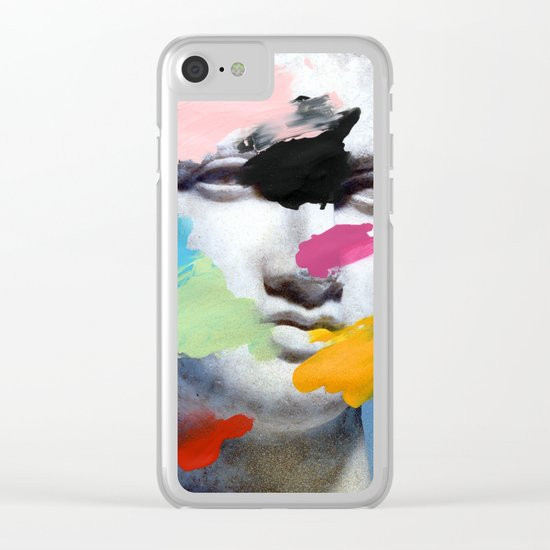 Composition 496 Clear iPhone Case