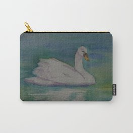 A Single Swan a Swimming WC151022-13 Carry-All Pouch