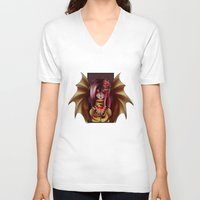 my little pony V-neck T-shirts featuring My Little Pony : Flutterbat by Shade-Umbra