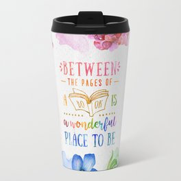 Between the pages Travel Mug