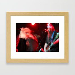This is hardcore- Party Vibez Framed Art Print