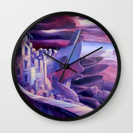 The Lord of Smegma Wall Clock