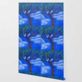 REALLY Blue Bonsai Wallpaper
