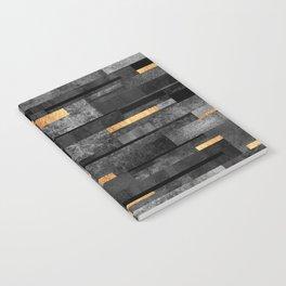 Urban Black & Gold Notebook