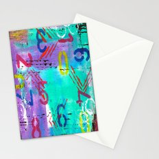 Pick Your Number Stationery Cards