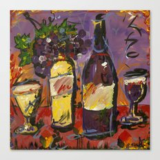 Wine Party  Canvas Print
