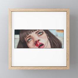 Mia Wallace Framed Mini Art Print