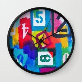 Numerology Wall Clock