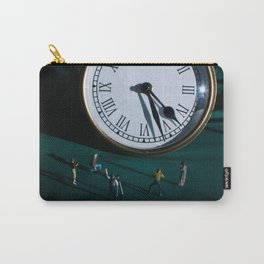 The Clock Watchers Carry-All Pouch