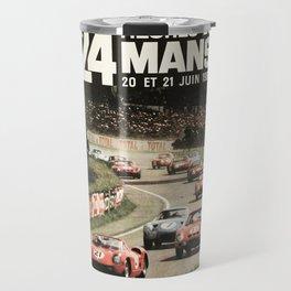 Le Mans poster, 1964, 24hs Le Mans, original vintage poster Travel Mug